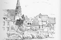 """Argenton sur Creuse, France (6"""" x 9"""")"""