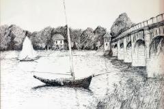 """After Monet (14"""" x 18"""")"""